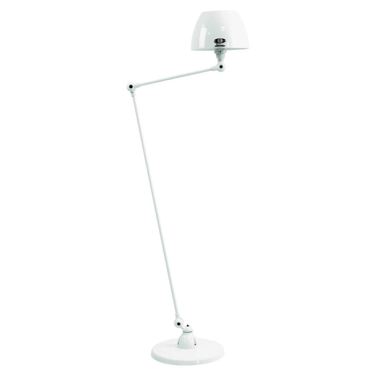 Jieldé Aicler AIC833 gulvlampe, 80+30 cm, hvit