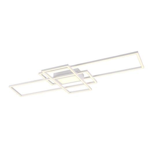LED-vegglampe Irvine 3 000-6 500 K, matt hvit