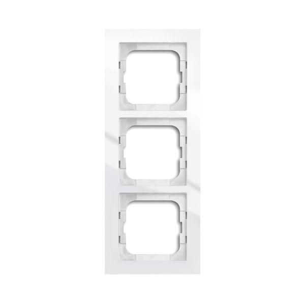 ABB Axcent Yhdistelmäkehys valkoinen 3-paikkainen