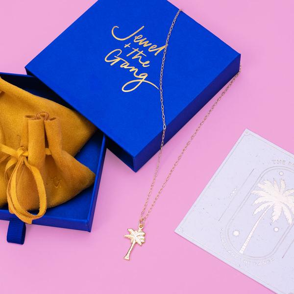 Jewel + The Gang The Palm Tree Necklace