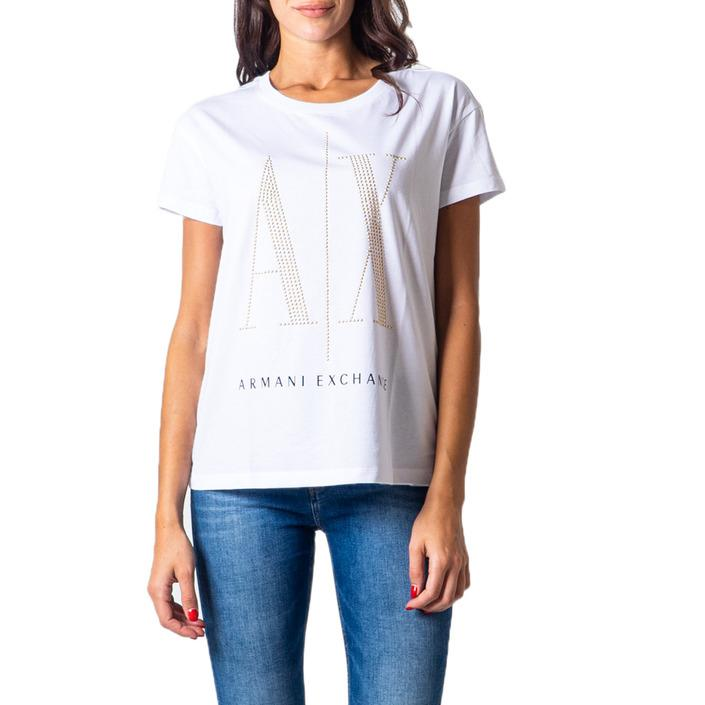 Armani Exchange Women's T-Shirt Various Colours 177020 - white XS