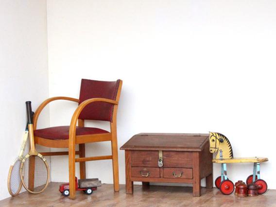 Antique Desk Brown Medium
