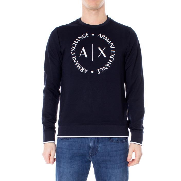 Armani Exchange Men's Sweatshirt Blue 273569 - blue XS