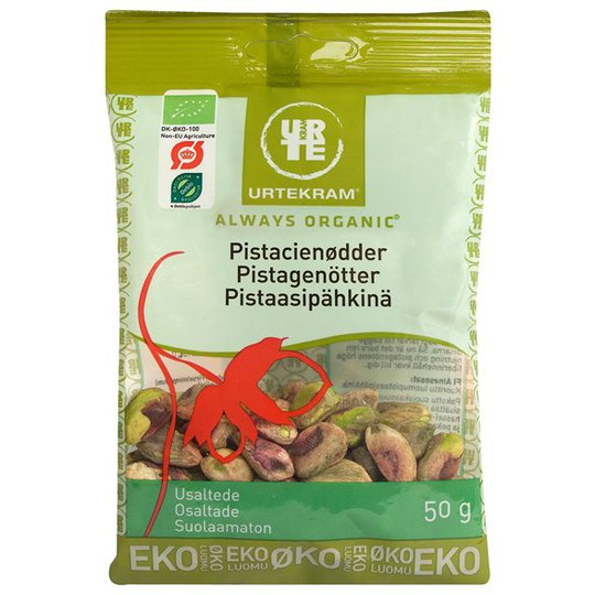 Urtekram Food Pistagenötter Osaltade, 50 g