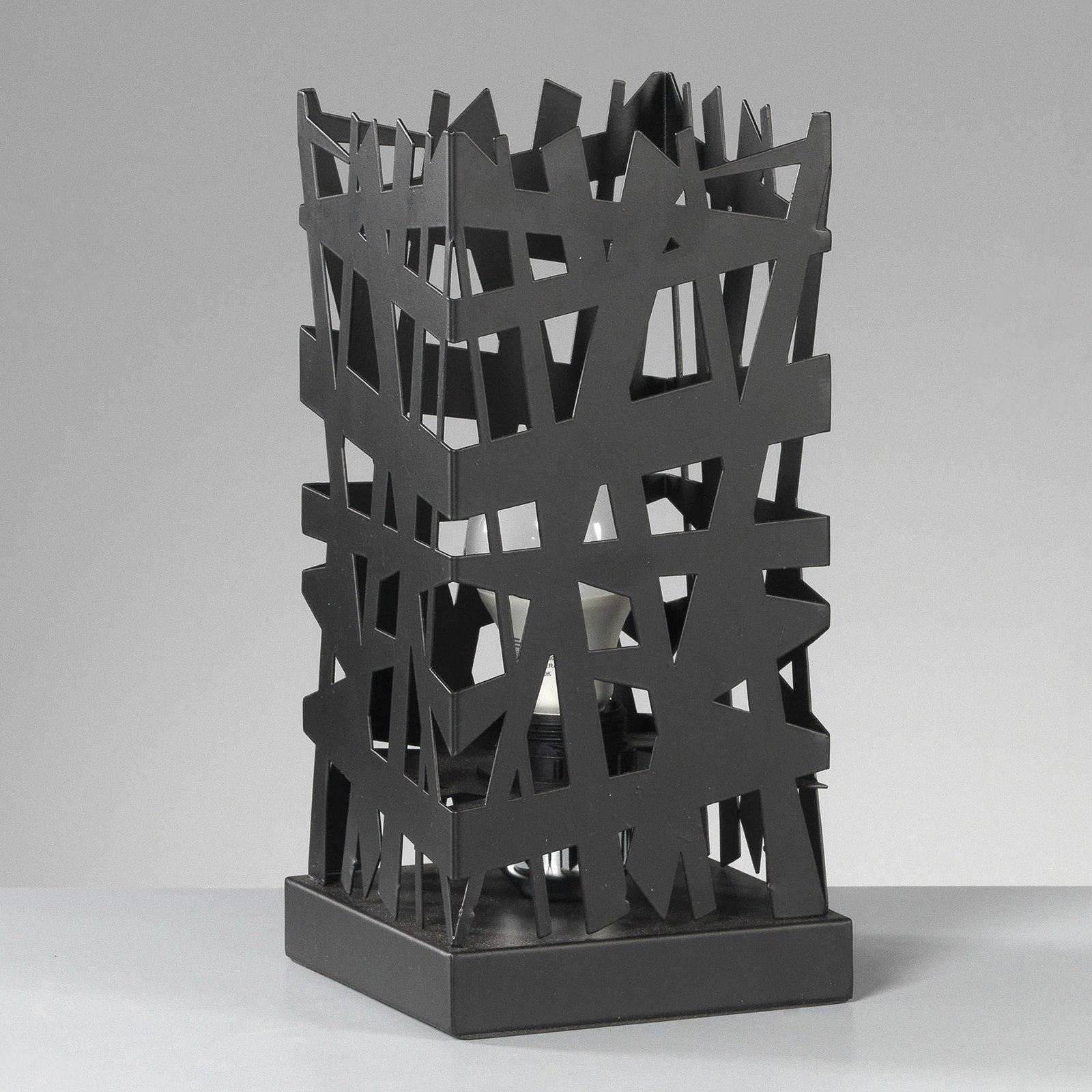 Bordlampe Foresta i interessant design