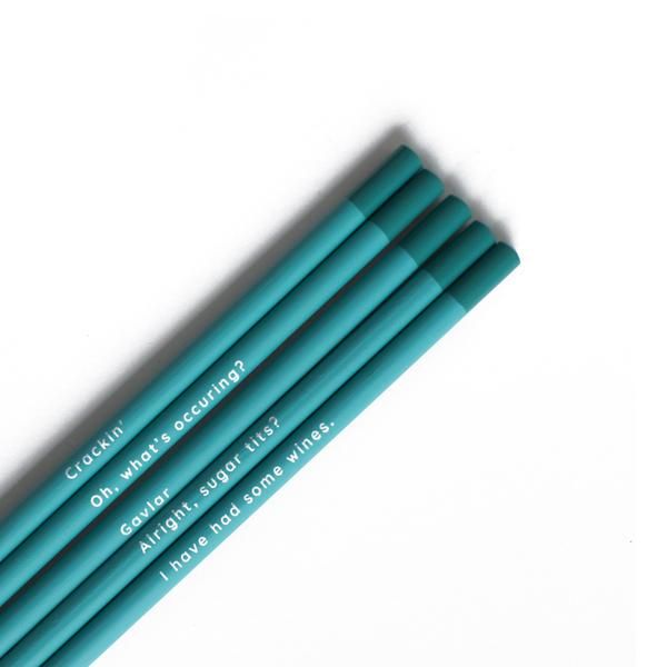 Gavin and Stacey Pencil Set