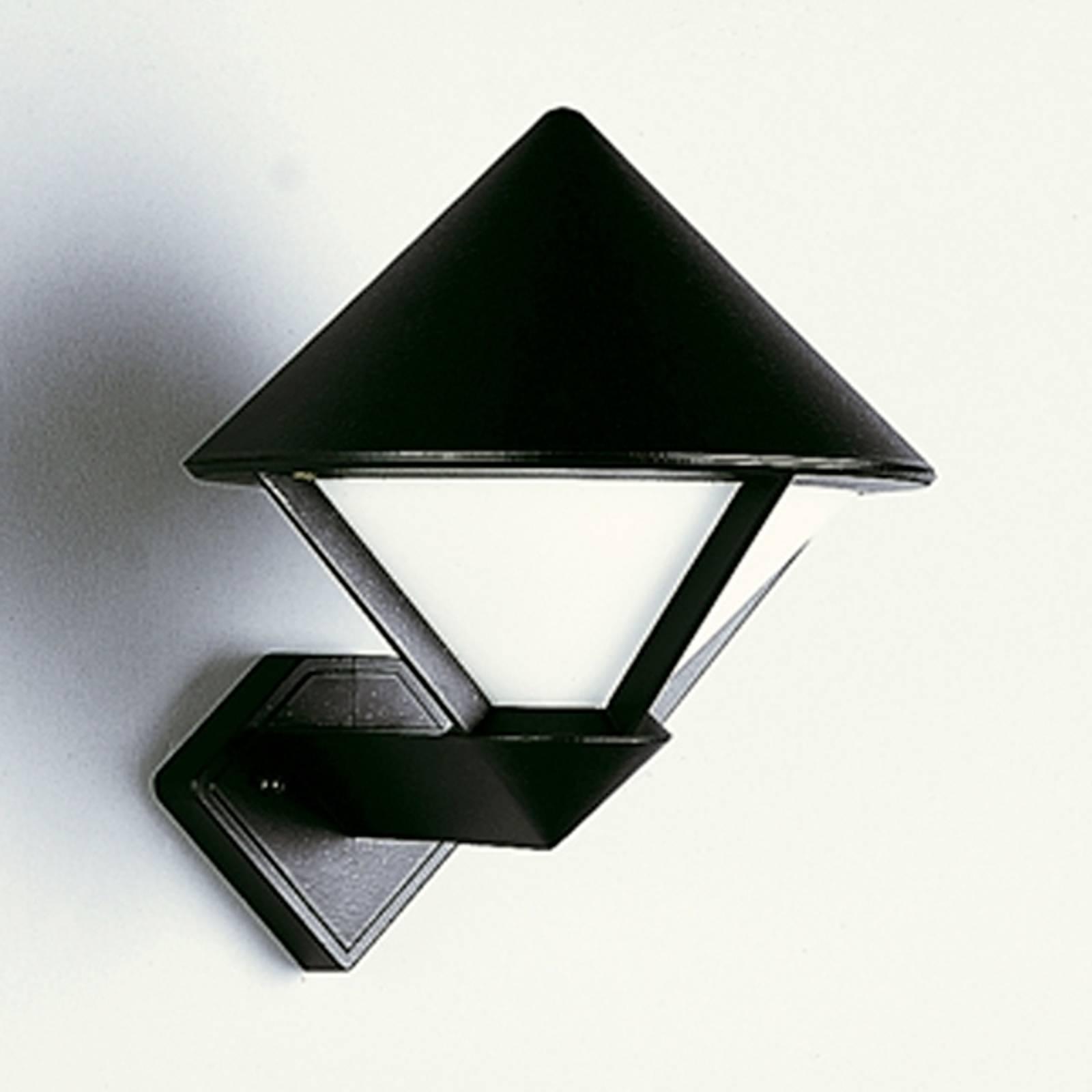 Moderni ulkoseinävalaisin 175, musta
