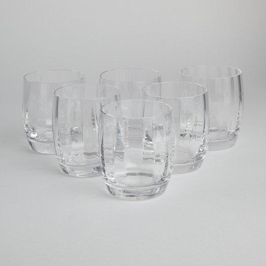 """Orrefors - SÅLD Old Fashioned Glas """"Optica Symphony"""" 6 st"""