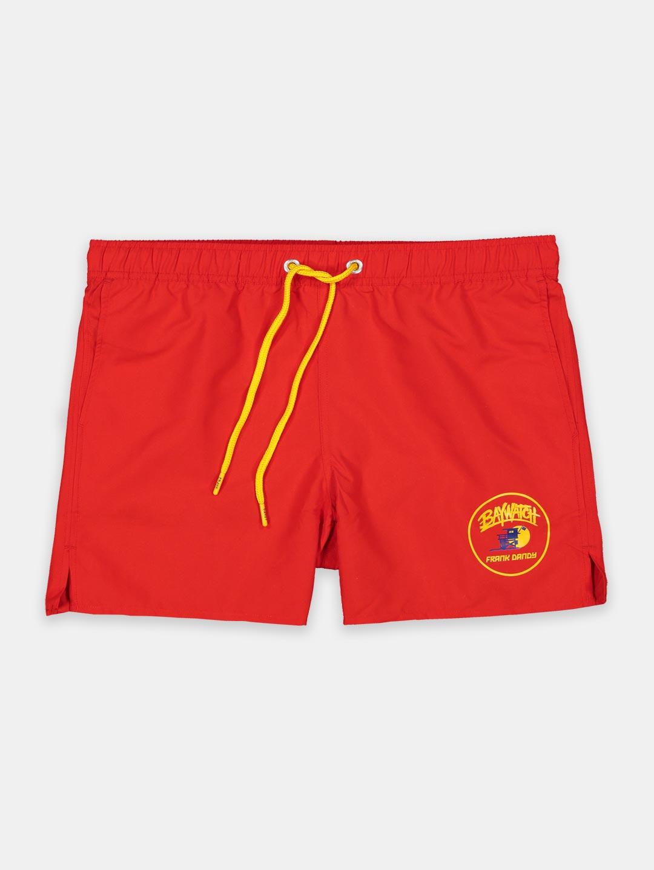 Frank Dandy Baywatch Patch Swim Shorts