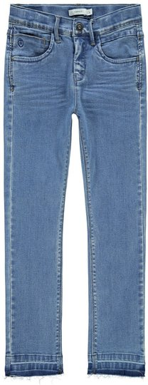 Name it Rose Jeans, Medium Blue Denim, 140