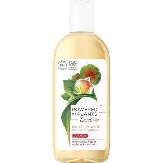 Body Oil Wash Geranium, 250 ml Dove Suihku- ja kylpytuotteet