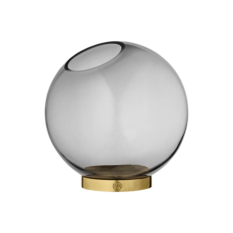 Globe Vas Ø21cm Svart, AYTM