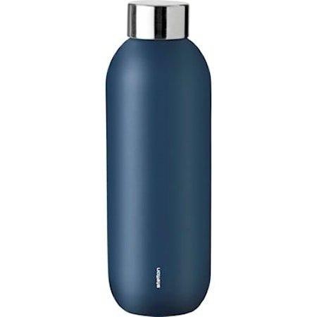 Stelton I:cons Keep Cool Drikkeflaske 0,6 L Dusty Blue