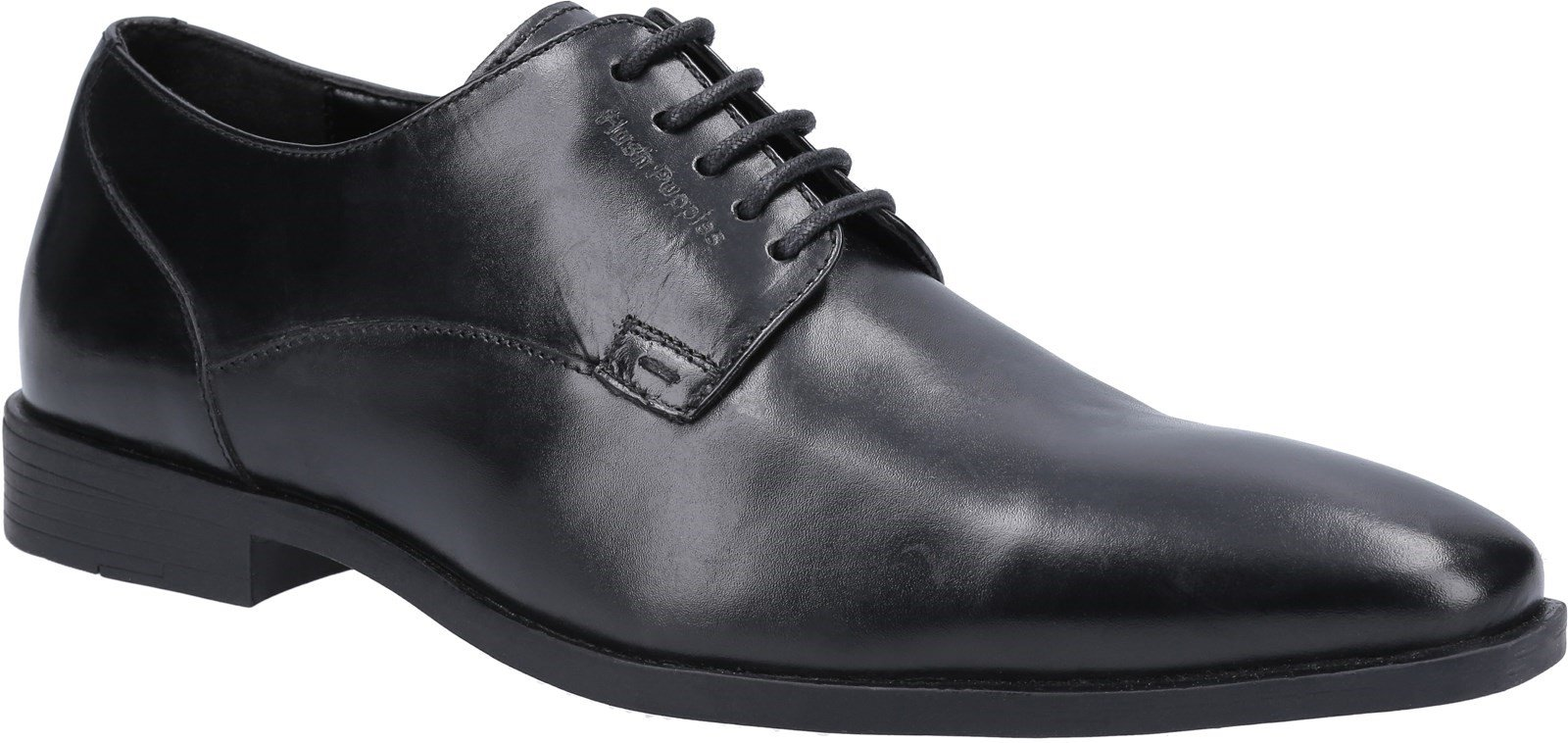 Hush Puppies Men's Ezra School Oxford Shoe Black 30816 - Black 6