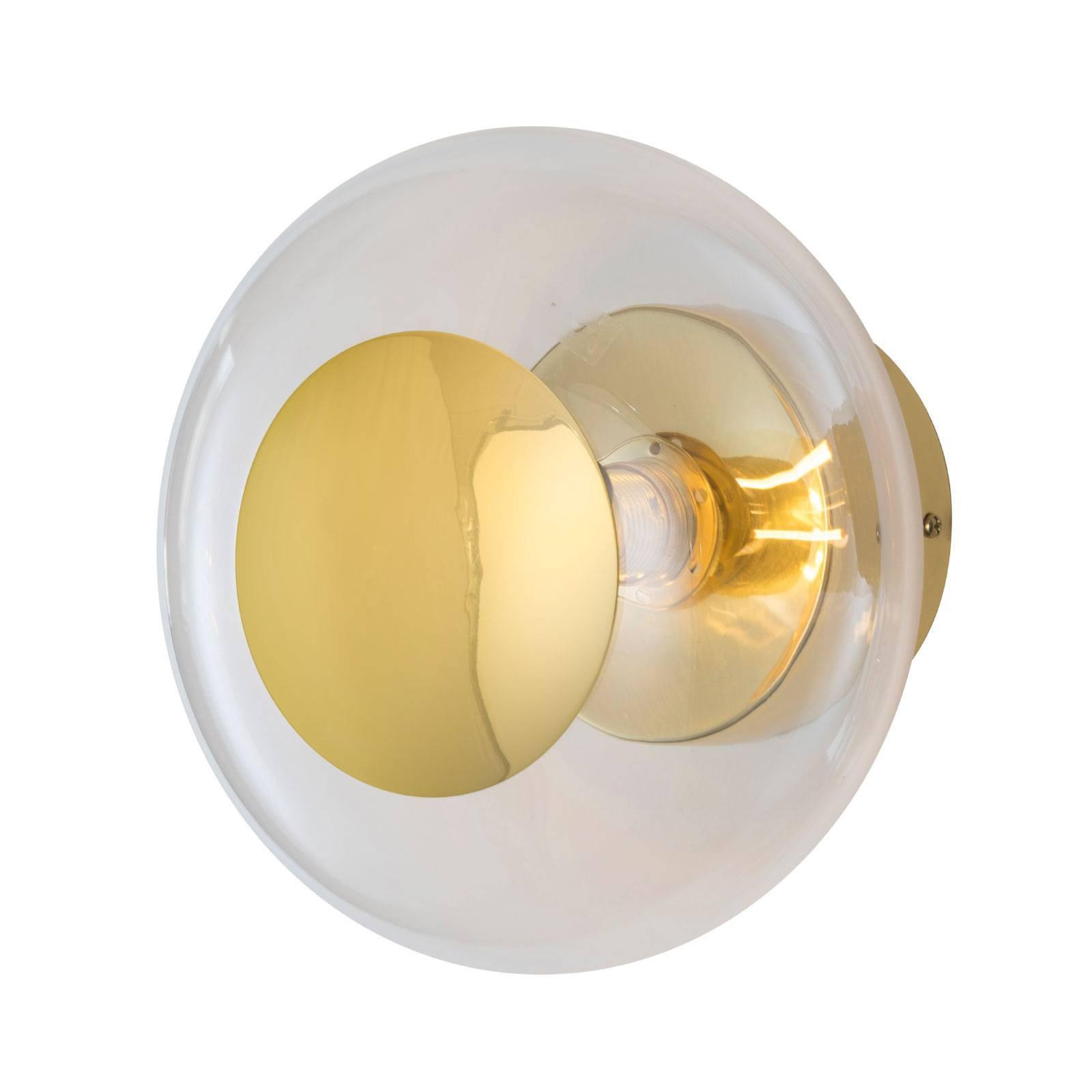 EBB & FLOW Horizon, fatning gull/klar, Ø 21 cm