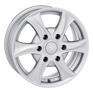 CSP Work Silver 6x15 6/139.7 ET27 B110