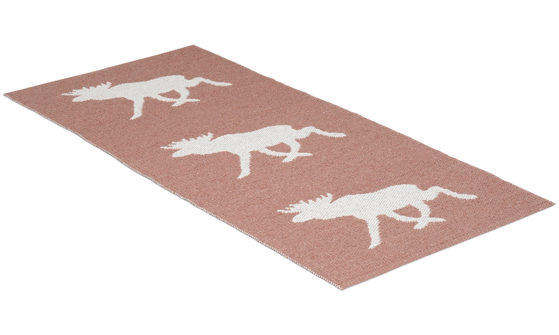 Moose rosa - plastteppe