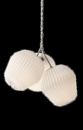 THE BOUQUET Ljuskrona Papper 3 Lampskärmar
