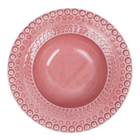 PotteryJo - Daisy Sopptallrik 21 cm Rose