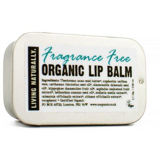 Living Naturally Fragrance Free Lip Balm, 13 g