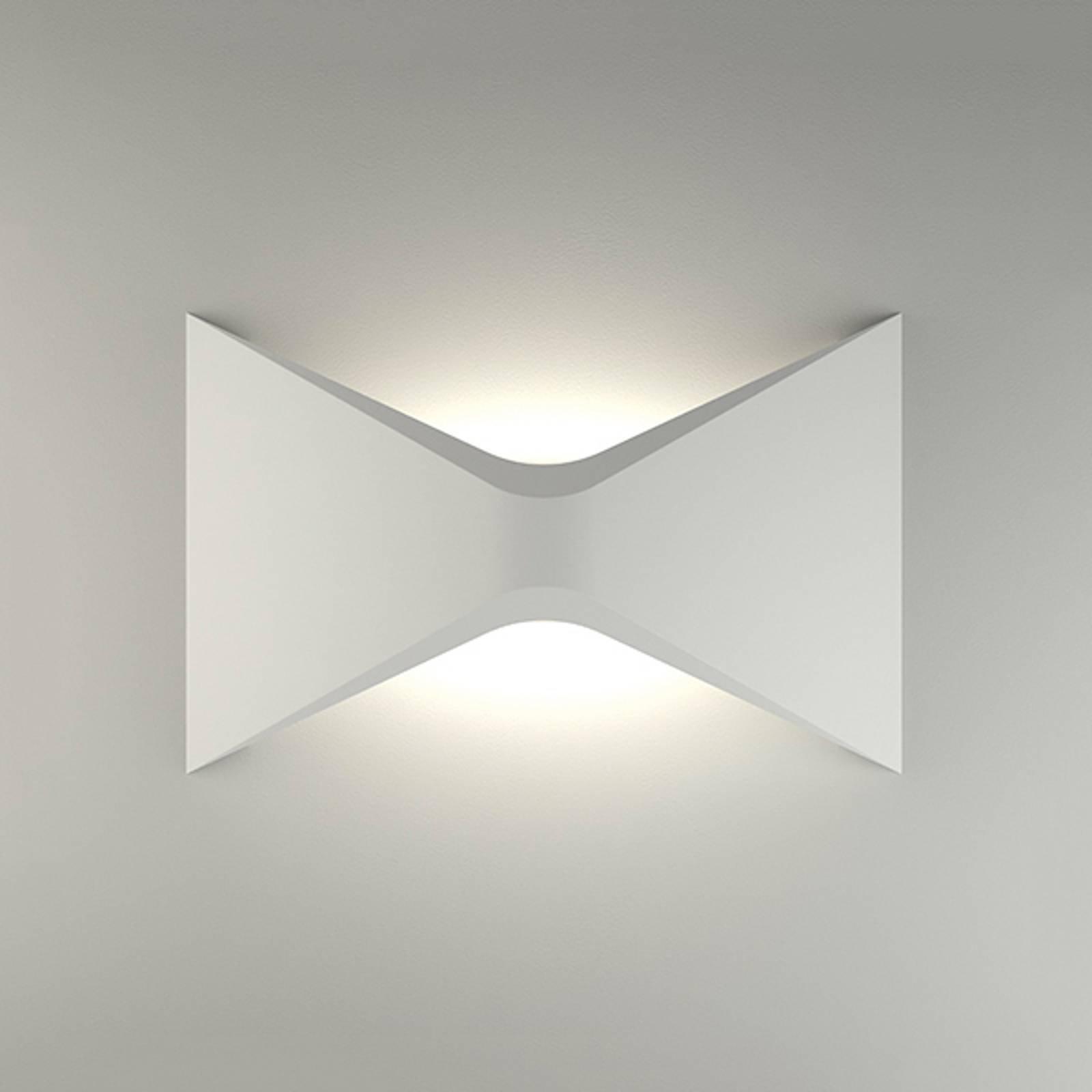 LED-vegglampe 2388, keramikk 3 000 K, ikke-dimbar