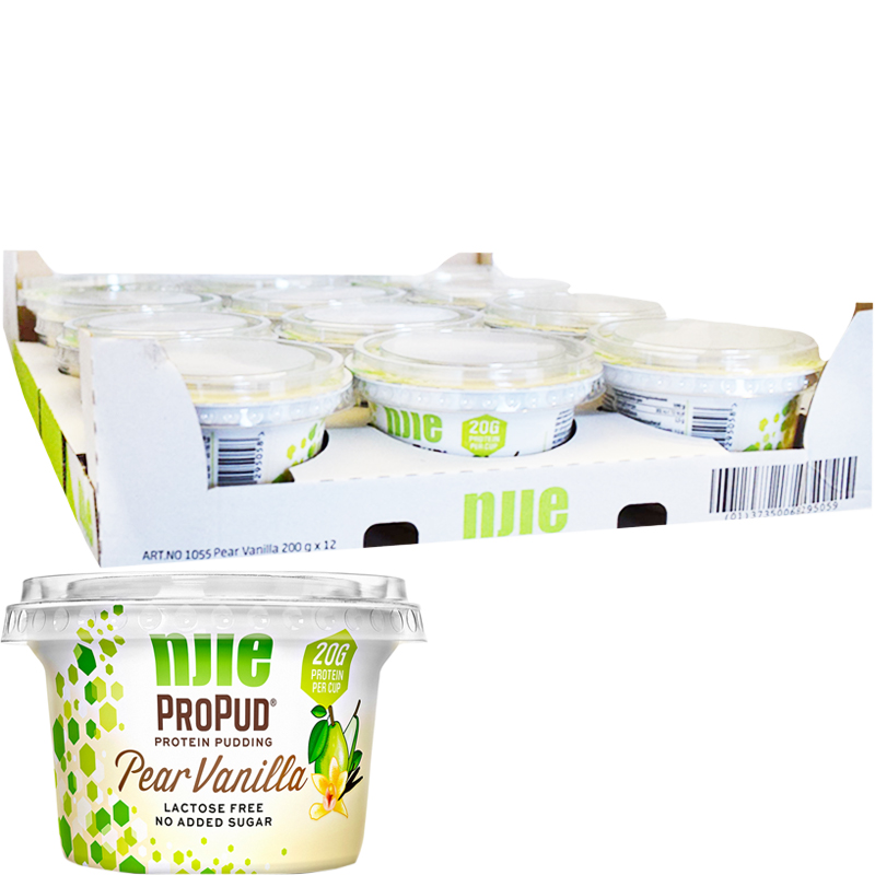 Proteinpudding Päron & Vanilj 12-pack - 32% rabatt