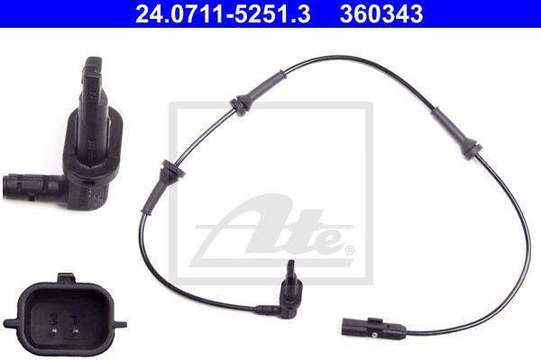 ABS-anturi ATE 24.0711-5251.3