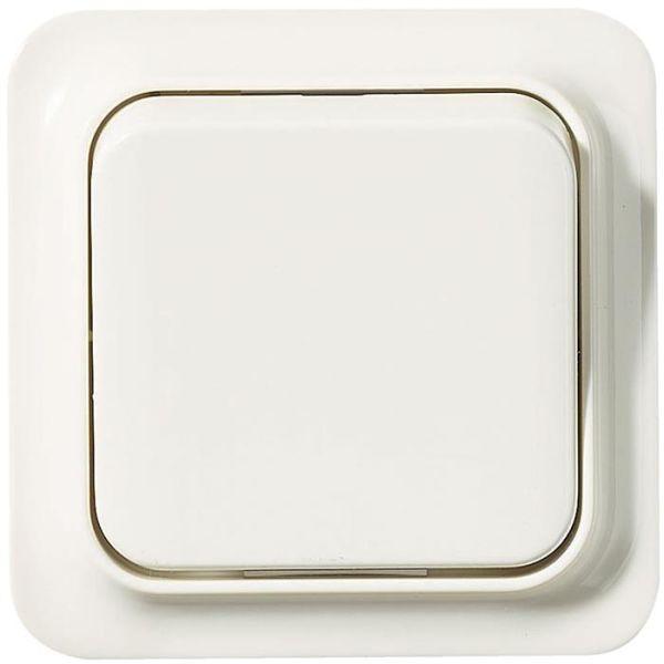 Schneider Electric Trend 183013200 Kytkin valkoinen risti