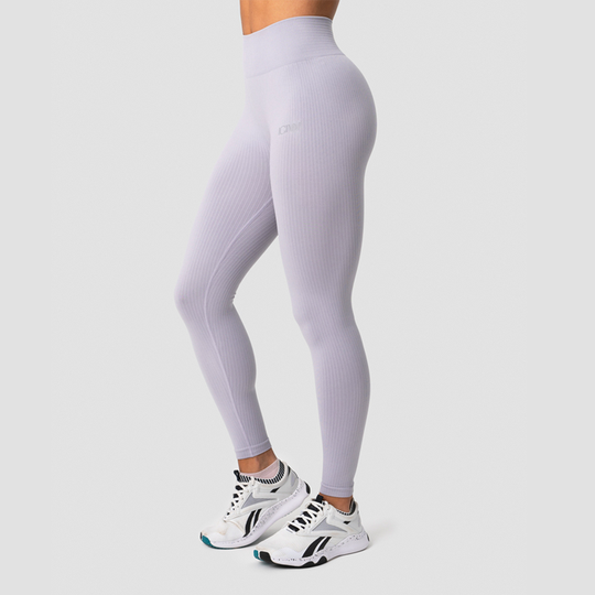 Ribbed Define Seamless Tights, Cloudy Violet