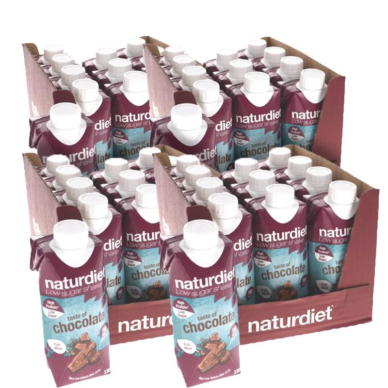 Måltidsersättning Shake Chocolate 48-pack - 30% rabatt