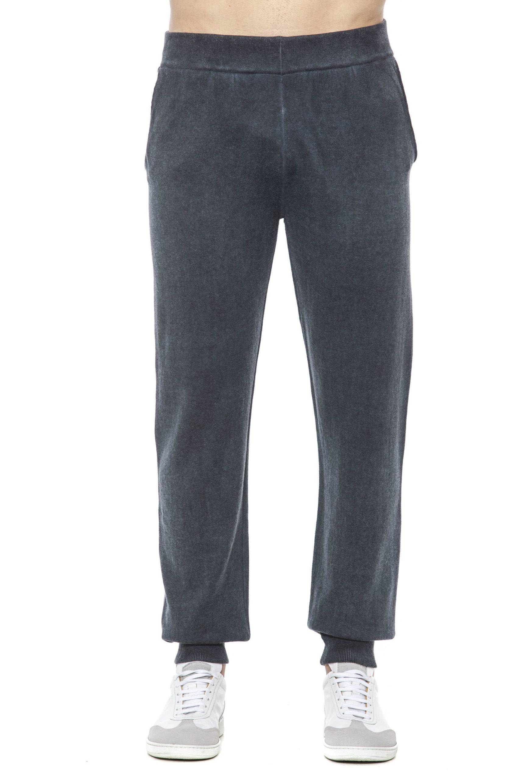 Alpha Studio Men's Notte Trouser Blue AL1394960 - IT48 | M