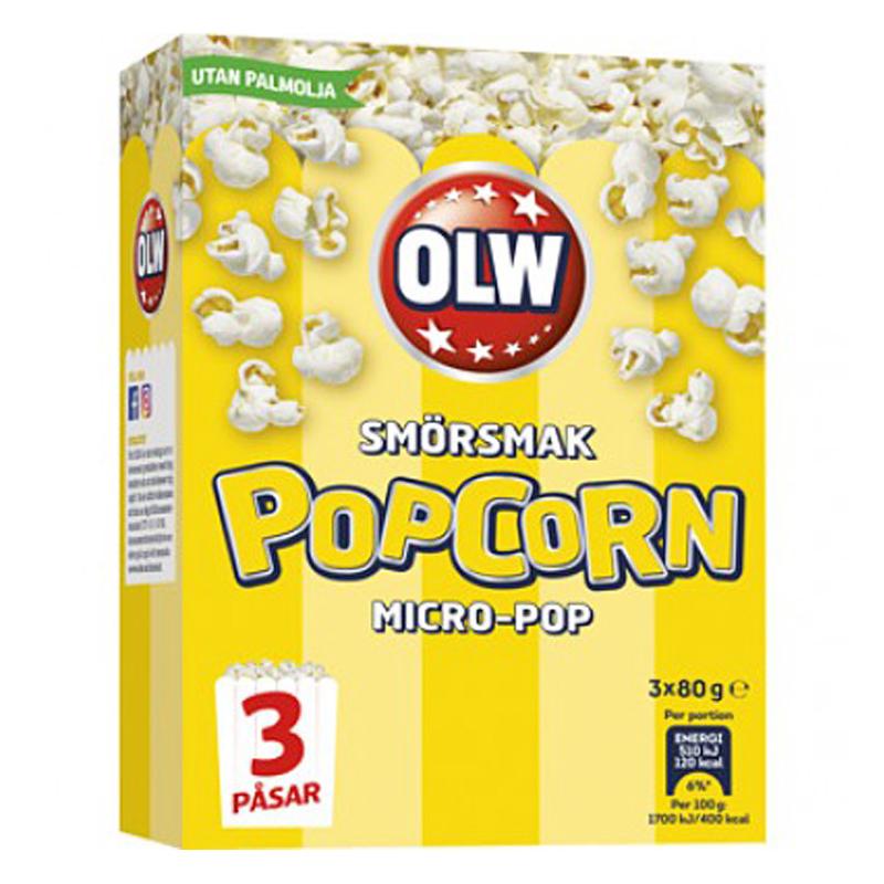 Popcorn Smör 3-pack - 19% rabatt