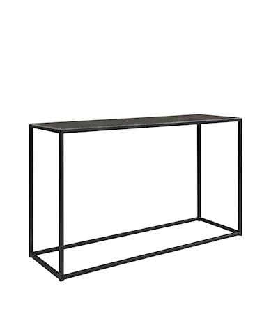 AMALFI console table 130*40*78 bluestone/black
