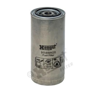 Polttoainesuodatin HENGST FILTER H18WK05
