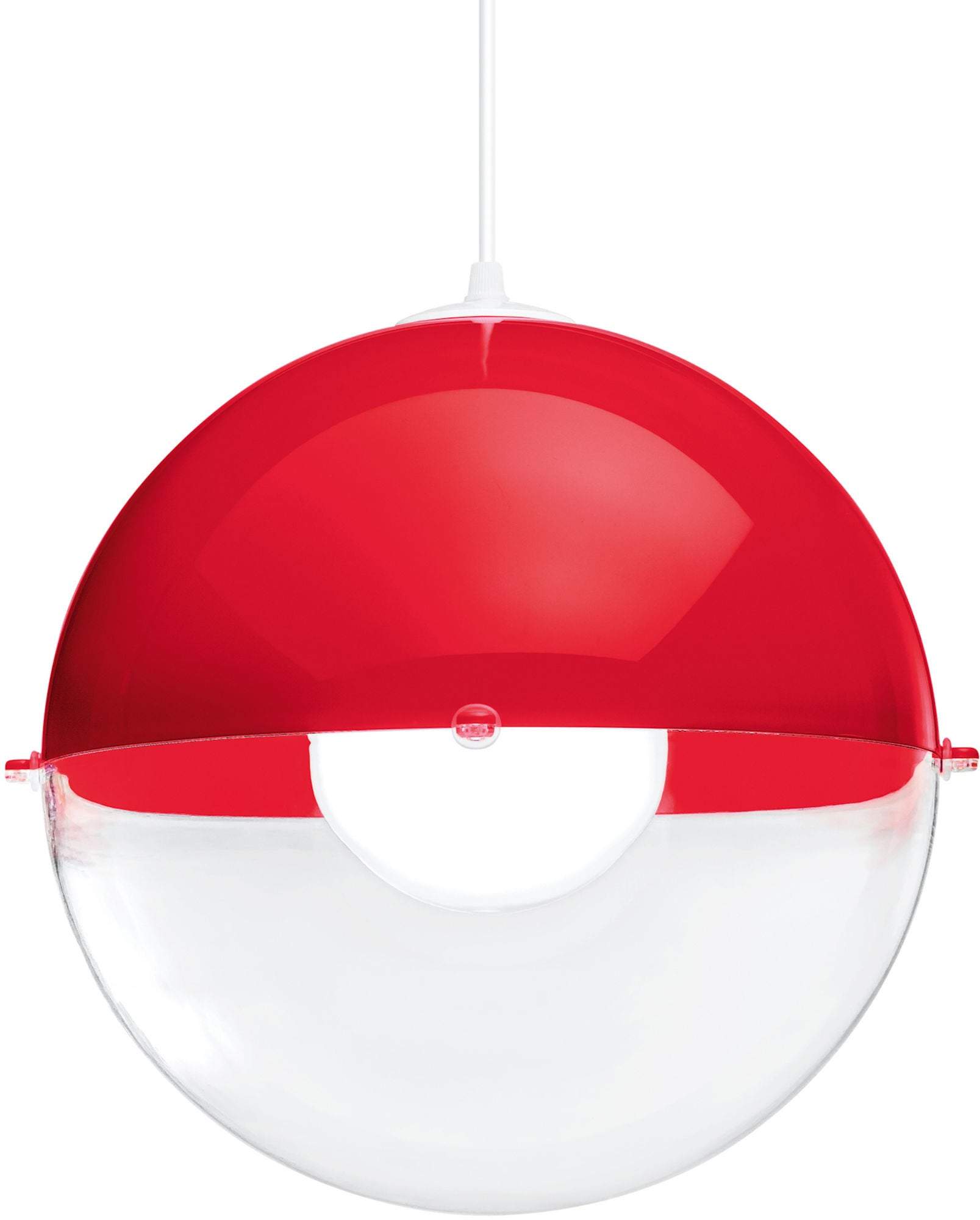 Koziol Kattovalaisin Orion Transparent, Punainen