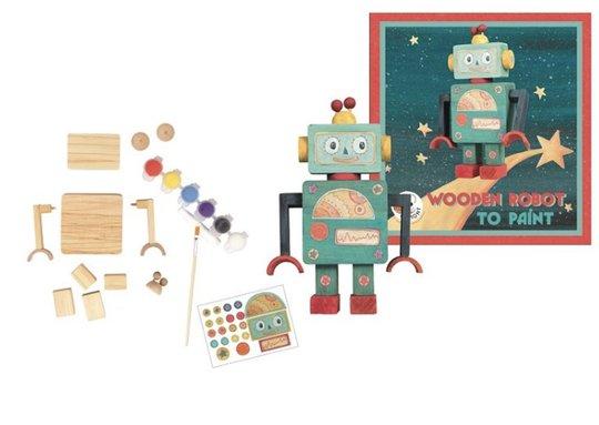 Egmont Toys Bygg og mal robot DIY