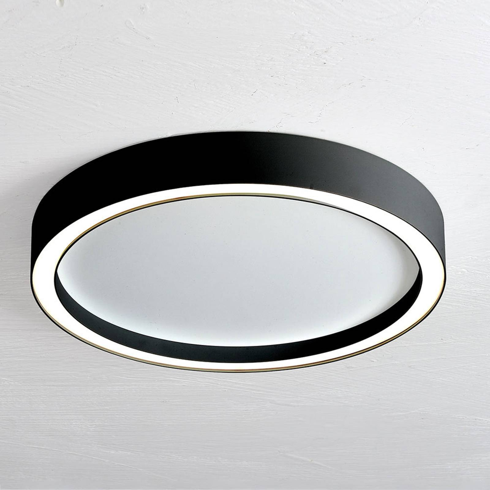 Bopp Aura LED-kattolamppu Ø 40 cm musta