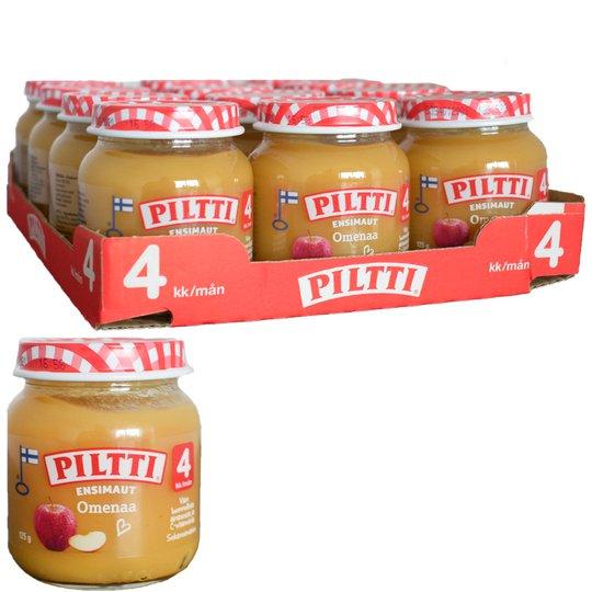 Lastenruoka Ensimaut Omenaa 12kpl - 22% alennus
