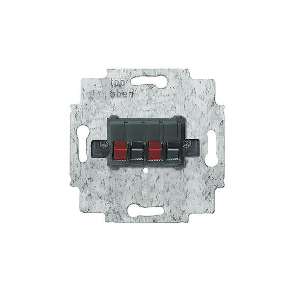 ABB 0248.00 Høyttaleruttaksinnsats stereo, maks. 10 mm²
