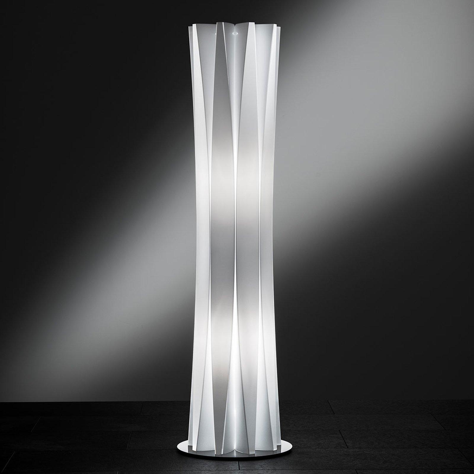 Slamp Bach, gulvlampe, høyde 116 cm, hvit