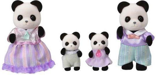 Sylvanian Families 5529 Pookie Panda Family