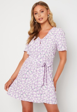 ONLY Dina S/S Short Dress Orchid Bloom AOP Dai M