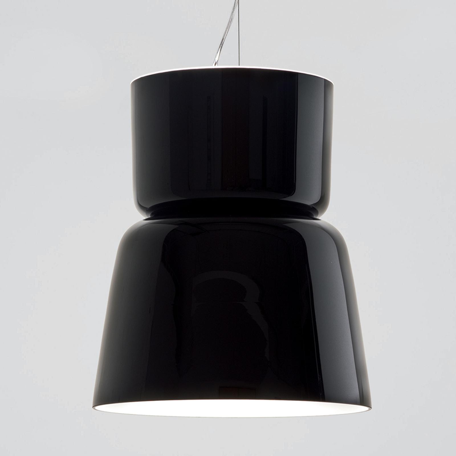 Prandina Bloom S5 riippuvalaisin, kiiltävä musta