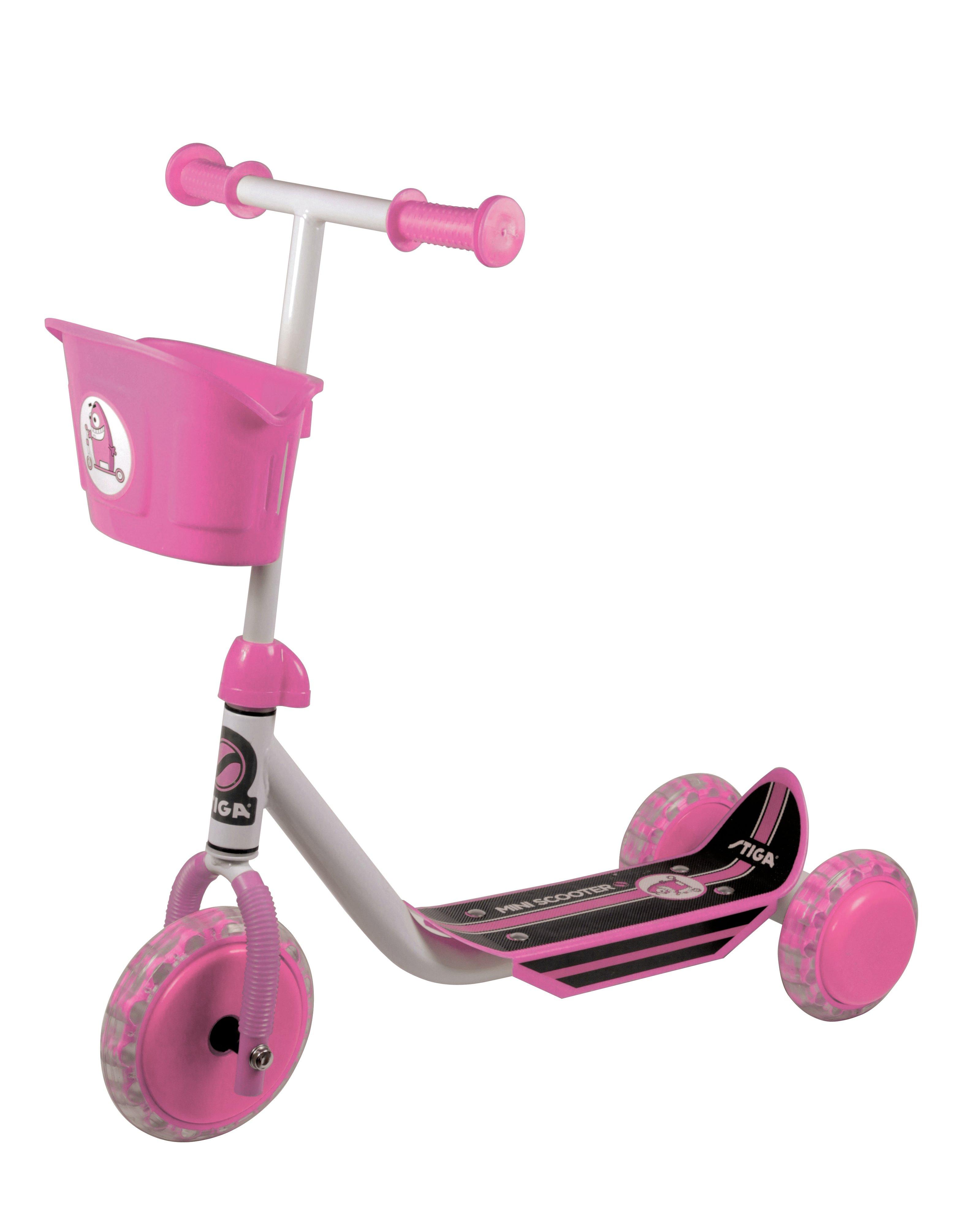 Stiga - Kid 3W Scooter - Rose (80-7401-07)