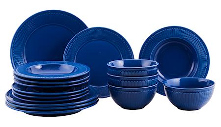 Fålhagen Porslinsset 16 delar blå