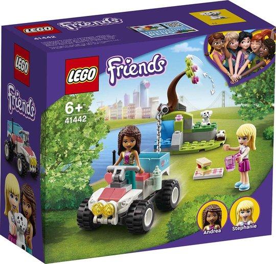 LEGO Friends 41442 Veterinærklinikkens Redningsbuggy