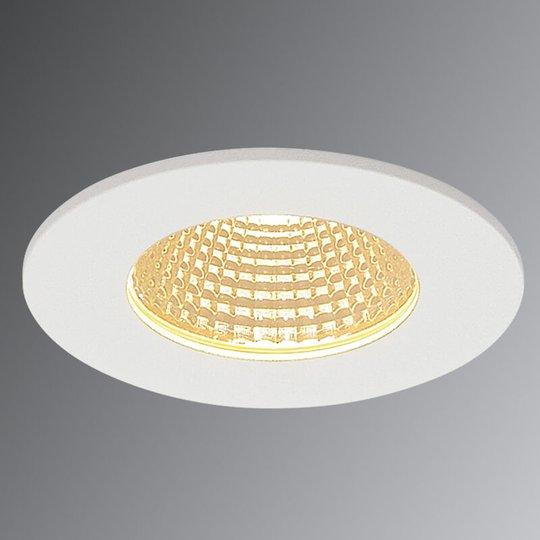 SLV Patta-I LED uppovalo pyöreä, valkoinen matta