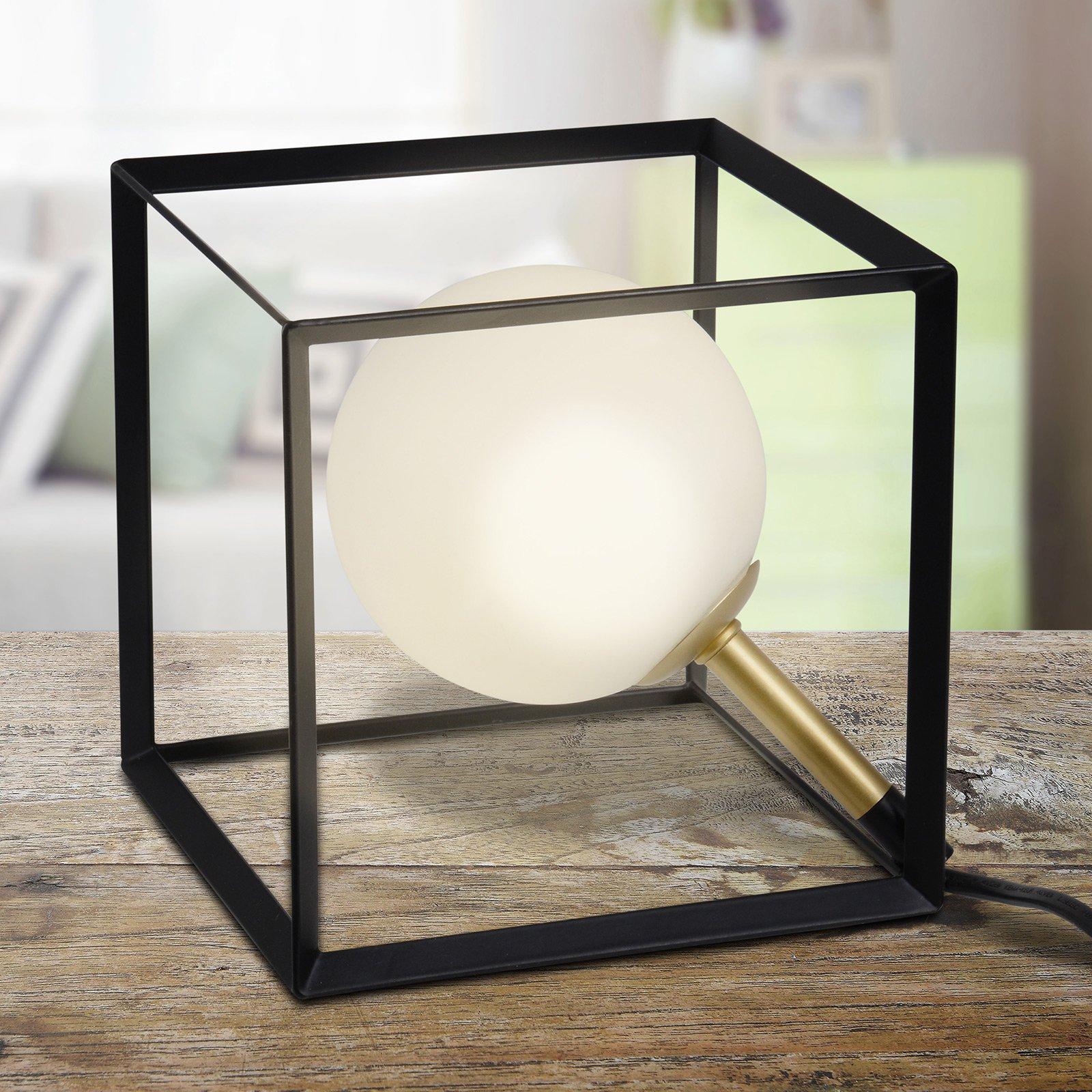 3168922 LED-bordlampe i markant terningutseende