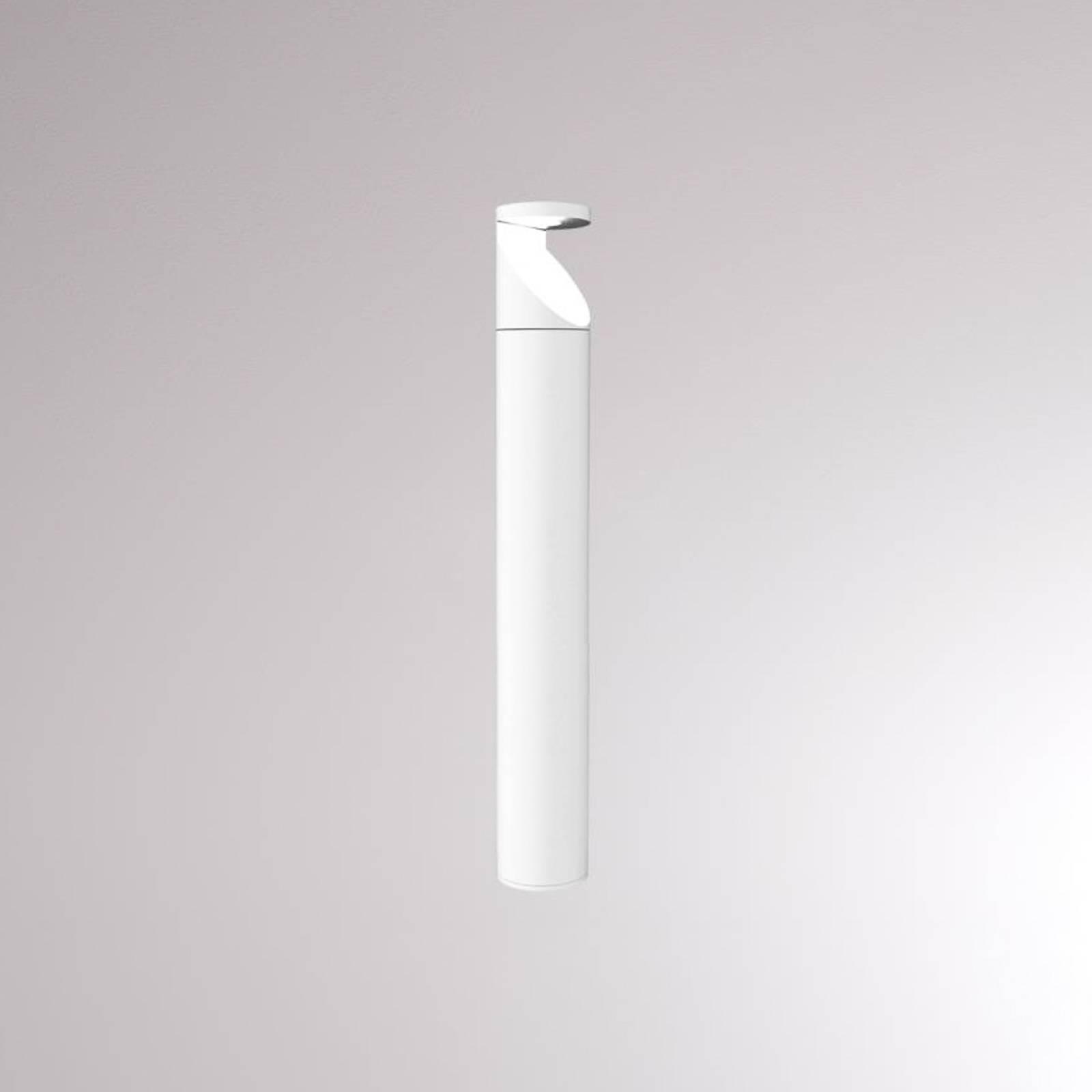 LOUM Booper -LED-pylväsvalaisin, matta valkoinen