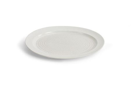 Drop Serveringsfat Vit 38 cm